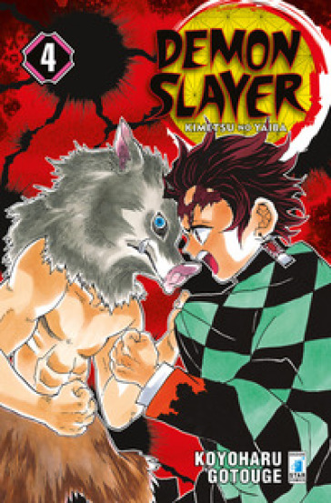 Demon slayer. Kimetsu no yaiba. 4.