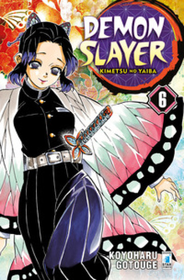 Demon slayer. Kimetsu no yaiba. 6. - Koyoharu GOTOUGE | Thecosgala.com