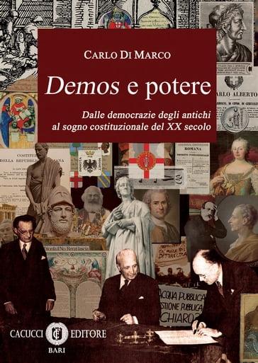 """Risultati immagini per """"Demos e Potere"""" di Carlo Di Marco..."""