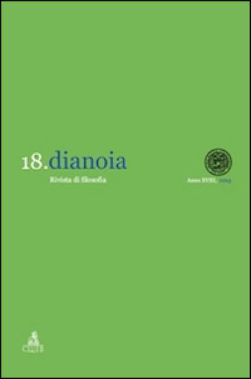 Dianoia. Annali di storia della filosofia. 18.Responsabilità: per una problematizzazione