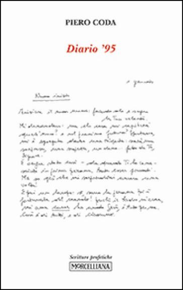 Diario '95 - Piero Coda | Kritjur.org