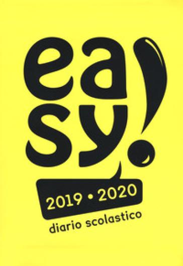 Diario easy 2019/2020. Copertina gialla - Manuela Giani |