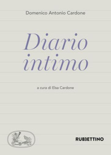 Diario intimo - Domenico Antonio Cardone |