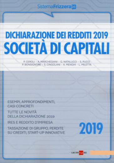 Dichiarazione dei redditi 2019. Società di capitali -  pdf epub