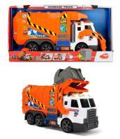 Dickie Toys - Action Series - Camion Ecologia Con Luci 46 Cm