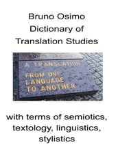 Dictionary of Translation Studies