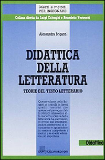 Didattica della letteratura - Alessandra Briganti  