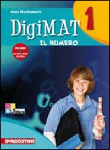 Digimat. Per la Scuola media. Con CD-ROM. 2: Aritmetica. Geometria. INVALSI - Anna Montemurro |