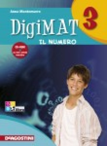 Digimat. Per la Scuola media. Con CD-ROM. Con espansione online. 3: Alegbra. Geometria. Quaderno INVALSI - Anna Montemurro  