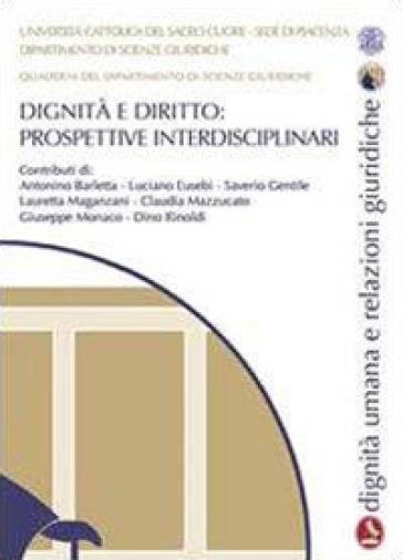 Dignità e diritto. Prospettive interdisciplinari