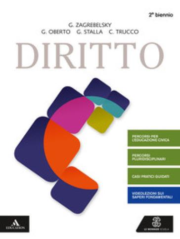 Diritto. Volume unico. Per gli Ist. tecnici e professionali. Con e-book. Con espansione online - Gustavo Zagrebelsky   Kritjur.org