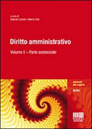 Diritto amministrativo. 1: Parte sostanziale - G. Carlotti | Rochesterscifianimecon.com