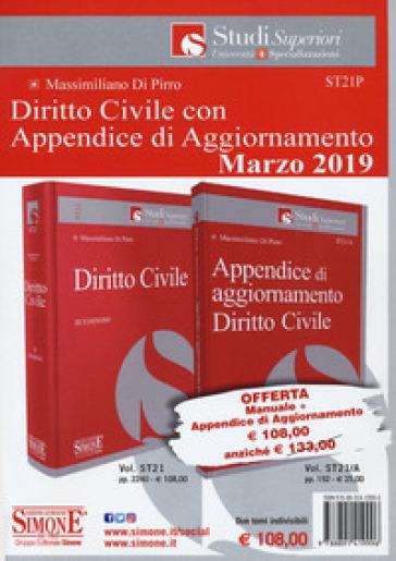 Diritto civile-Appendice di aggiornamento diritto civile 2019. Con Contenuto digitale per download - Massimiliano Di Pirro  