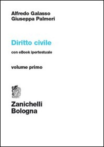 Diritto civile. Con e-book. 1. - Alfredo Galasso |