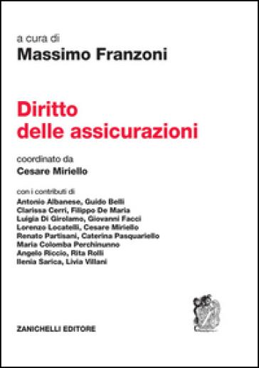 Diritto delle assicurazioni - Massimo Franzoni |