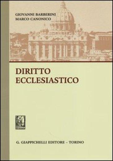 Diritto ecclesiastico - Giovanni Barberini | Jonathanterrington.com
