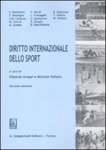 Diritto internazionale dello sport - M. Vellano pdf epub