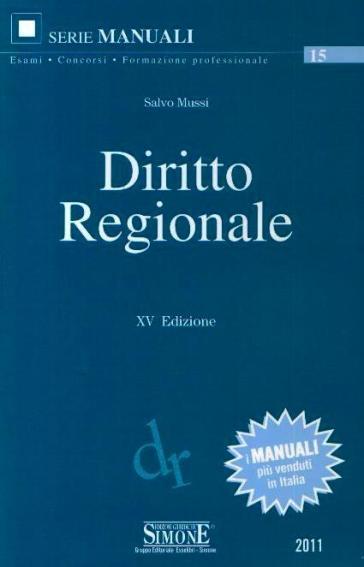 Diritto regionale - Salvo Mussi | Rochesterscifianimecon.com