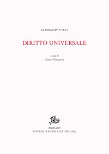 Diritto universale. Ediz. latina e italiana - Giambattista Vico |