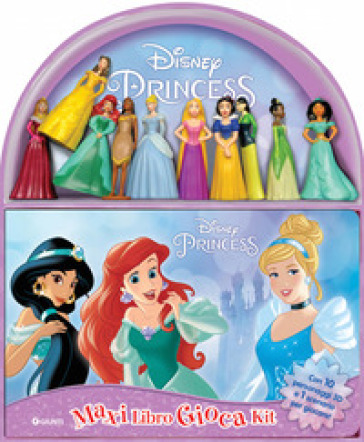 Disney princess. Maxi libro gioca kit. Con 10 gadget -  pdf epub