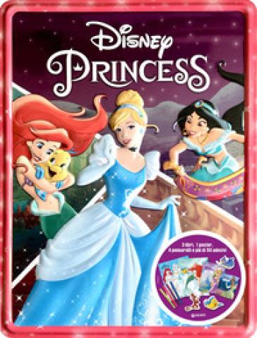Disney princess. Storie di latta. Ediz. a colori. Con gadget. Con Poster