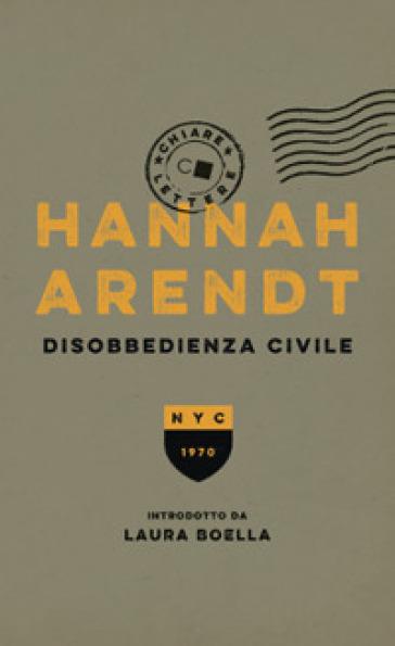 Disobbedienza civile - Hannah Arendt |