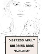 Distress Adult Coloring Book