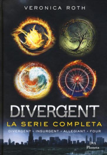Divergent. La serie: Divergent-Insurgent-Allegiant-Four - Veronica Roth  