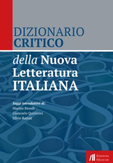 Dizionario critico della nuova letteratura italiana