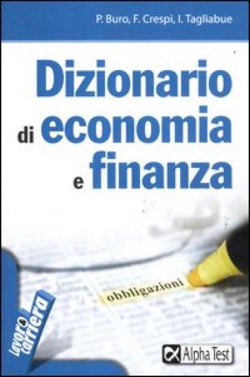 Dizionario di economia e finanza - Paolo Buro pdf epub