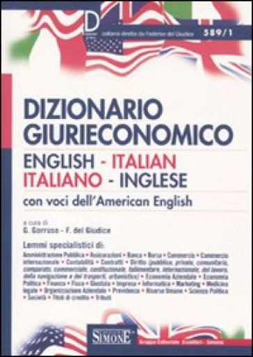 Dizionario giurieconomico english italian italiano for Traduzione da inglese a italiano