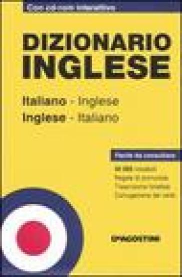 Dizionario inglese italiano inglese inglese italiano for Traduzione da inglese a italiano