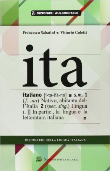 Dizionario italiano 2012