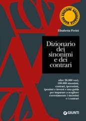 Dizionario dei sinonimi e dei contrari - Elisabetta Perini