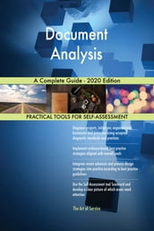 Document Analysis A Complete Guide - 2020 Edition
