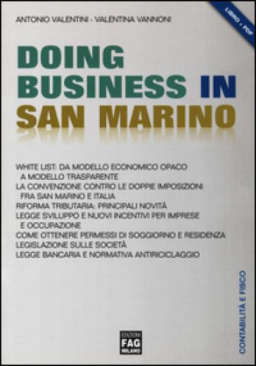 Doing business in San Marino - Antonio Valentini   Rochesterscifianimecon.com