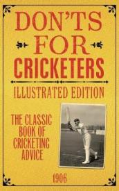 Don ts for Cricketers