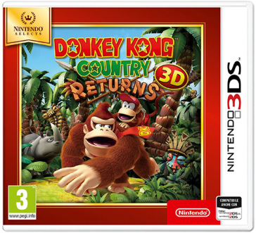Donkey Kong Country Returns 3D Select