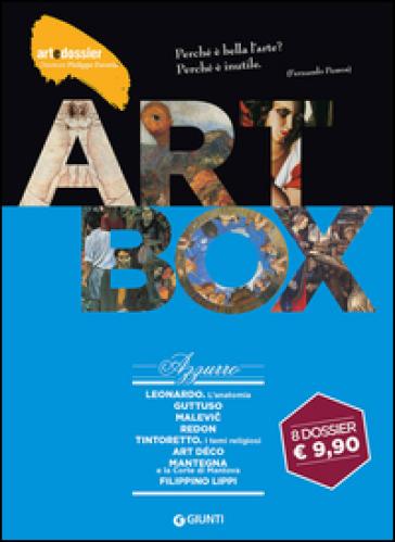 Dossier d'art. Box azzurro: Leonardo. L'anatomia-Guttuso-Malevic-Redon-Tintoretto. Temi religiosi-Art déco-Mantegna e la corte di Mantova-Filippino Lippi. Ediz. illustrata
