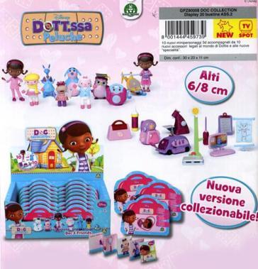 Dottoressa peluche serie 2 mini personaggio con for Regalo libri gratis