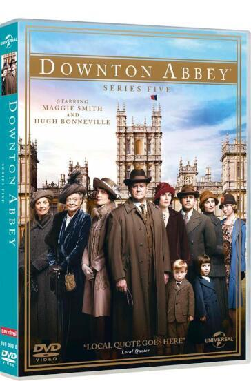 Downton Abbey - Stagione 05 (5 DVD)(nuovo packaging non garantito)