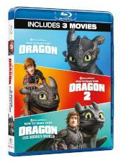 Dragon Trainer Collection 1-3 (3 Blu-Ray)
