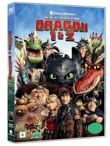 Dragon trainer 1 & 2 (2 DVD)