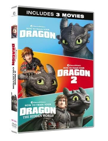 Dragon trainer collection (3 DVD)(collezione completa)