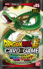 DragonBall Super CardGame Buste Pack 5