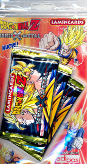 Dragonball Z Metal Lamincards 108pz