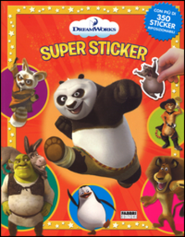 DreamWorks. Supersticker. Con adesivi