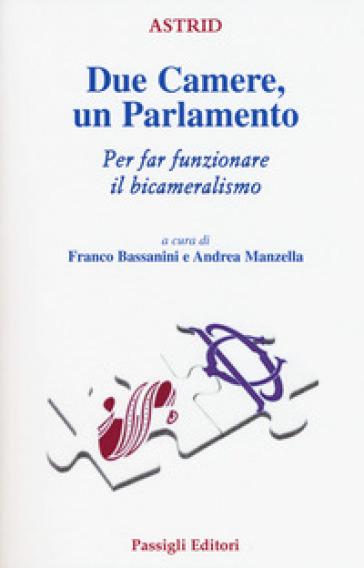 Due Camere un Parlamento. Per far funzionare il bicameralismo - F. Bassanini |