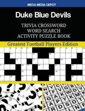 Duke Blue Devils Trivia Crossword Word Search Activity Puzzle Book