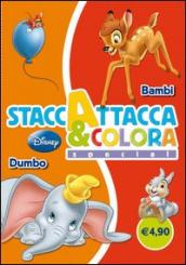 Dumbo-Bambi. Staccattacca e colora special